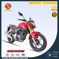 Classic Model Motorcycle Gas Diesel Street Bike Hot Selling Model SD300II