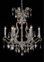 Claro de cristal colgantes de la lámpara araña de prisma de cristal