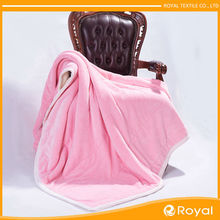 China manufacturer European style Low price moving blanket /Pure china blanket factory /Airline sheep wool blanket