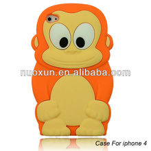 cute cartoon character phone case For iphone 5G soft silicone mobile phone case