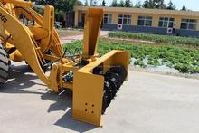 Low price 2ton wheel loader snow removal machine