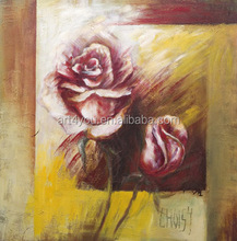 Modern Rose Flower Picture Oil Painting 37737
