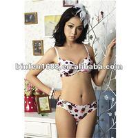 Seamless Girls Sexy Bra Panty Set New Design