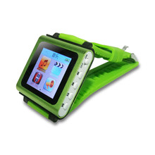 New Design Fashion 1.5'' Inch MP4 Wrist Watch Player Removable Watch Band MP4 Player