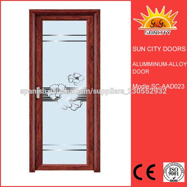 Cristales puertas interior cristaleria puerta cristalera for Puertas aluminio interior cristal