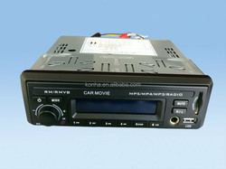 Bus 1Din DVD player with SD/USB/Mic phone input