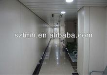 Durability compact phenolic cladding fixing system