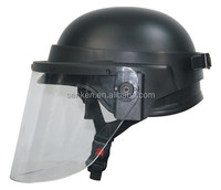 High quality disassembly visor and with german style riot helmet