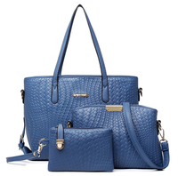 2015 style latest arrival PU 3pc set bag tote alibaba china laptop bags waterproof leather purses and handbags designer handbags