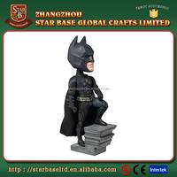 Resin material batman nodder dark night rises batman bobble head