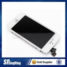 Black Front Glass Lens + Touch Screen Digitizer For iPhone 4 4s 5S 5G Replacement for Mobile Phone LCD Screen +Opening Tools