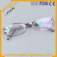 Factory direct sale metal optical frames for optical frame shop(PG199)