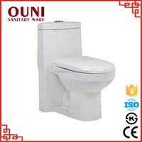 sanitary ware siphonic one piece toilet for bathroom