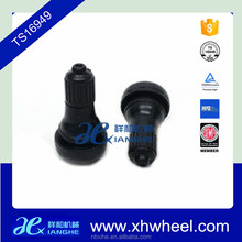 Snap-in tubeless rubber tire valve capTR415