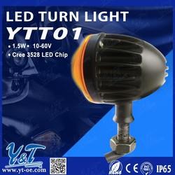 Y&T LED LED Turn Signal light Indicator Motorcycle for Crusier Bobber Custom Chopper