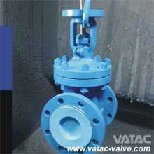 API600 Cast Steel Rising Stem Gate Valve with RF or BW Ends