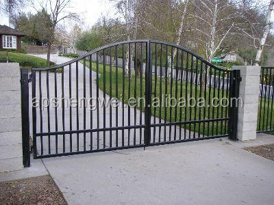Wrought iron fencing fences elements gates luxury wrought for Luxury fences
