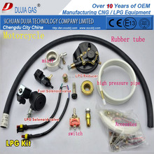 Easy installation LPG CNG conversion mixer system for motorcycle Modified Kit