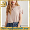 Burnout Knit Tee ladies fashion new tops,fashion ladies tops