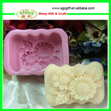 2015 OEM Silicone Soap Molds Handmade Soap Making Molds DIY Silicone Molds for Soap,chotolate, cake,jelly