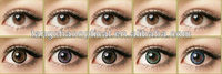 hazel cheap green colored contacts lenses/fresh tone color contact lenses/sparkle contact lens