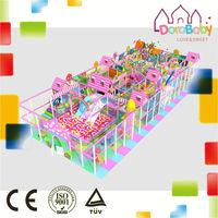 New style colorful amusement park, decoration type fantastic plastic playground equipment