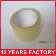 Good Viscosity BOPP Packing Tape Custom Printed LOGO Super Clear Sellotape Manufacturer