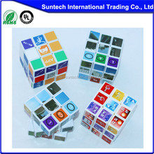 2015 hot sell Custom made magical cube, promotional magical cube, magical cube toy