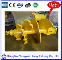 Nice earth auger price spare parts for rotary drilling rig