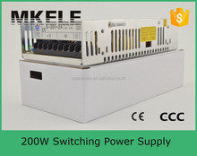 201w led dc switching power supply (s-201-12) 12v