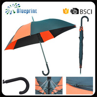 Promotion light stick umbrella men's walking stick umbrella