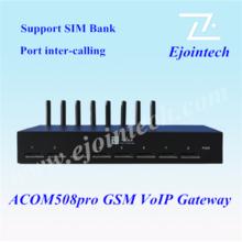Wireless 8 Ports 32 SIMs home automation gateway GSM/GPRS Fixed wireless terminal &RJ45/USB interface