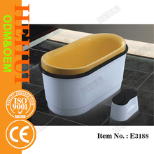 MT-T2041 6 person jacuzzy solid surface bath tub and white color marble bathtub