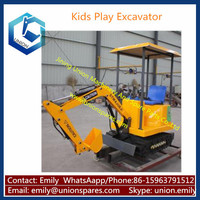 Kids Ride on Excavator Toys, Hydraulic Operating Toy Excavator for Sale