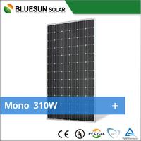NEW type mono black high efficiency 275w 300w 310w monocrystalline solar panels