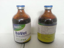 Brown red clear liquid Amino acid compound & Vitamin B12 injection
