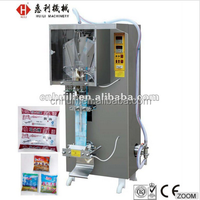 SJ 1000 automatic liquid packing machine for PE film