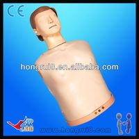 ISO Advanced Electronic Half Body CPR Training Manikin,cpr dummy