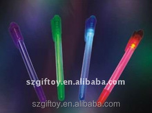 plastic pen light with customized logo