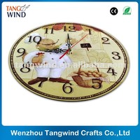 Cheap Price Antique Wooden Wall Clock