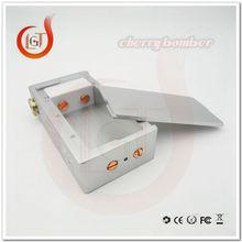 18650 Battery Mechanical Cherry Bomber Box Mod mech box mod Clone 510 Connector fit dual 18650 Battery for 510 RDA