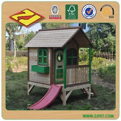 Kids timber cubby house DXPH008 (18 years professional factory)