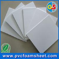 White pvc foam sheet maufacturer in shanDong / plastic pvc sheet/1.22m*2.44m pvc board
