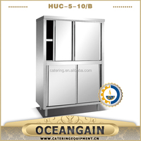 HUC-5-10/B With Sliding Doors Upright Storage Cabinet