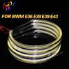 Xenon White 131mm Wholesale COB LED Halo Ring for BMW E46 E36 E39 LED Angel Eyes