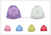 Beautiful Winter Warm Handmade Crochet Knit Baby Hat Pattern
