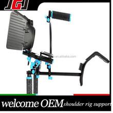 DSLR Shoulder Mount Rig RL-02 +Quick Release Follow Focus+ Matte Box +Top Handle Grip