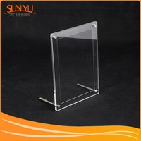 Customizing Double Sided Clear Acrylic Photo Frame With Set Screw