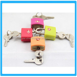 2015 Beautiful Design Hot Sale Colorful Digital Zinc Alloy Tsa Lock