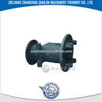 New design production NMRV forklift gearbox custom sand casting part